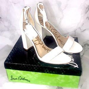 NEW Sam Edelman Yaro ankle strap sandal heel
